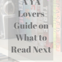 A YA Lovers Guide on What to Read Next