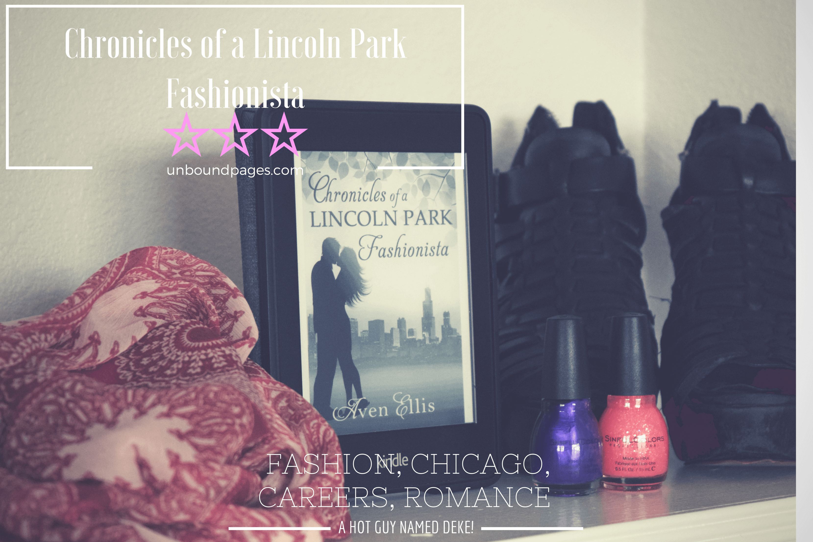 Chronicles of a Lincoln Park Fashionista was a great look at the beginning of someone's career. And there's a hot guy! - unboundpages.com
