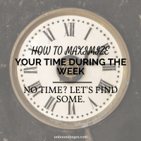 How to Maximize Your Weekdays w/Free Weekday Goal Planner!