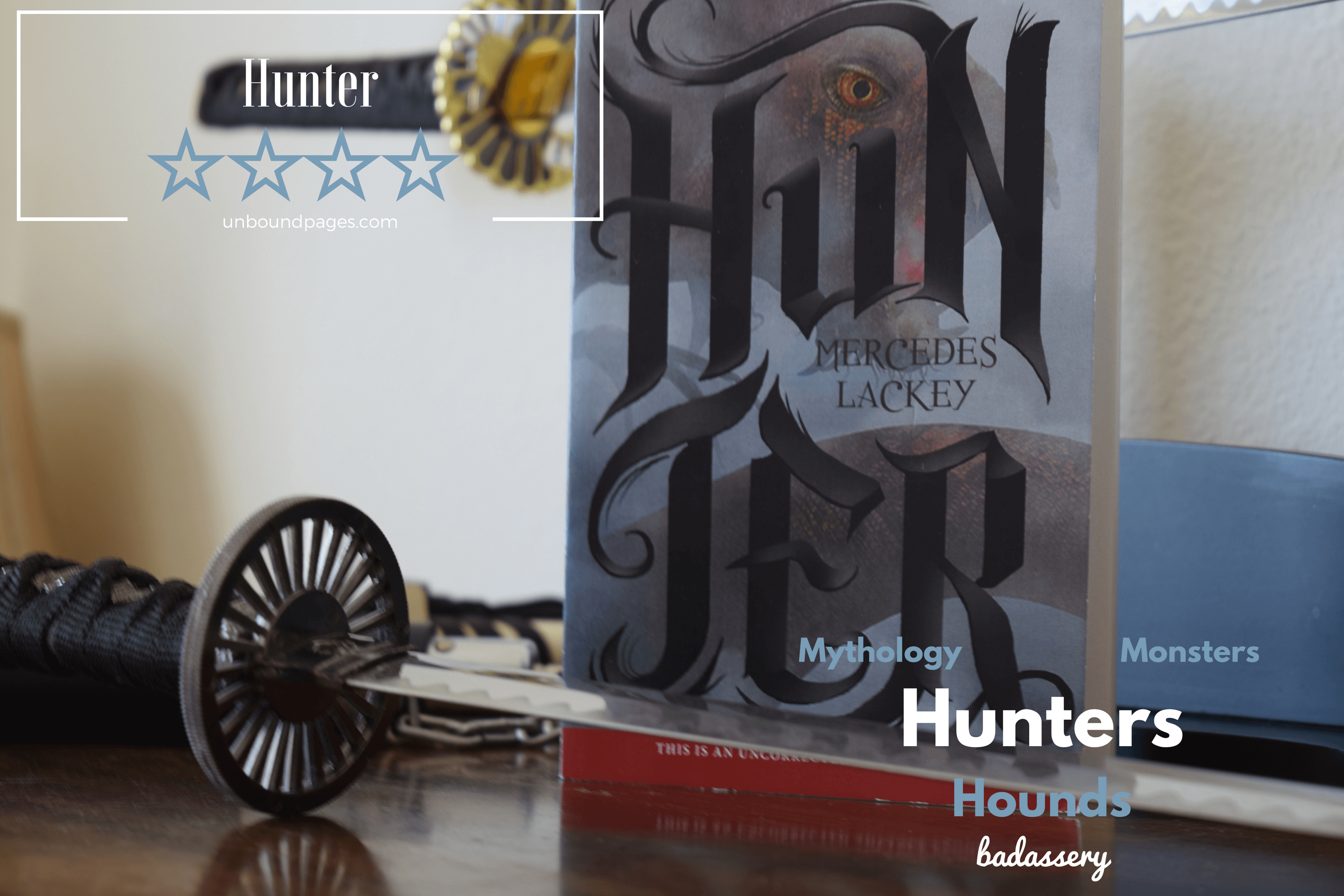 Hunter has every single fantastical creature you can think of. The pacing was a bit slow, but the ending saved it - unboundpages.com