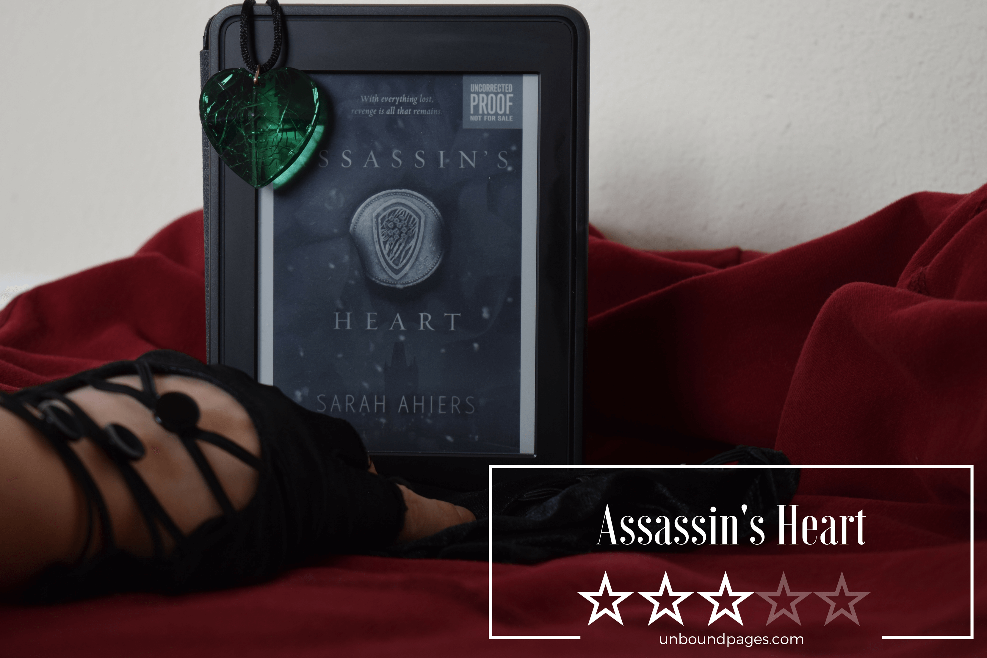 Assassin's Heart was an interesting story with a crime-mob family feel to it, but the plot line was a bit slow for me - unboundpages.com