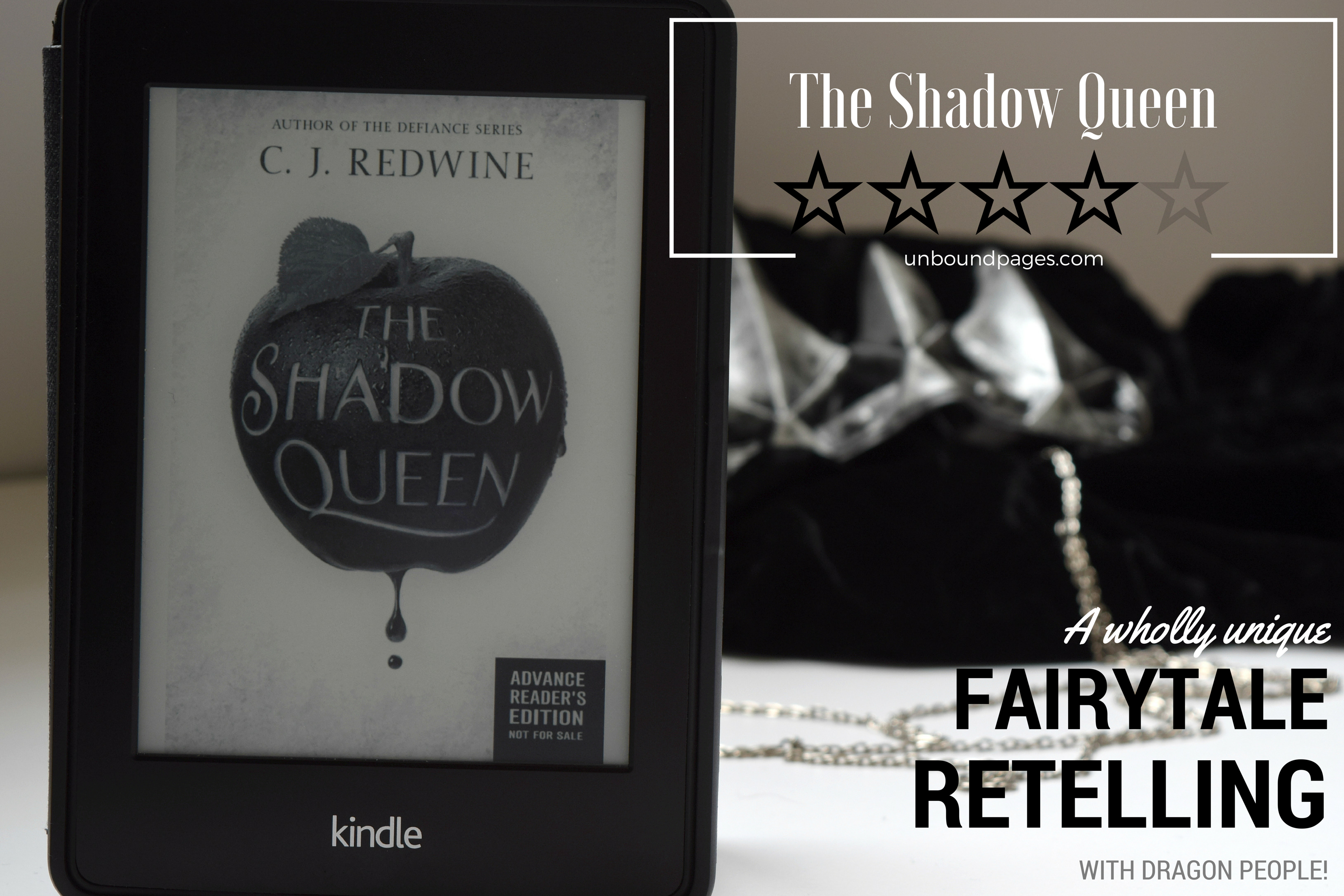 The Shadow Queen is a wholly unique fairtyale retelling with dragon people! - unboundpages.com