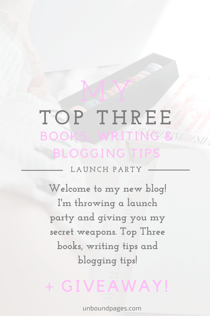 Top Three Books, Blogging & Writing Tips