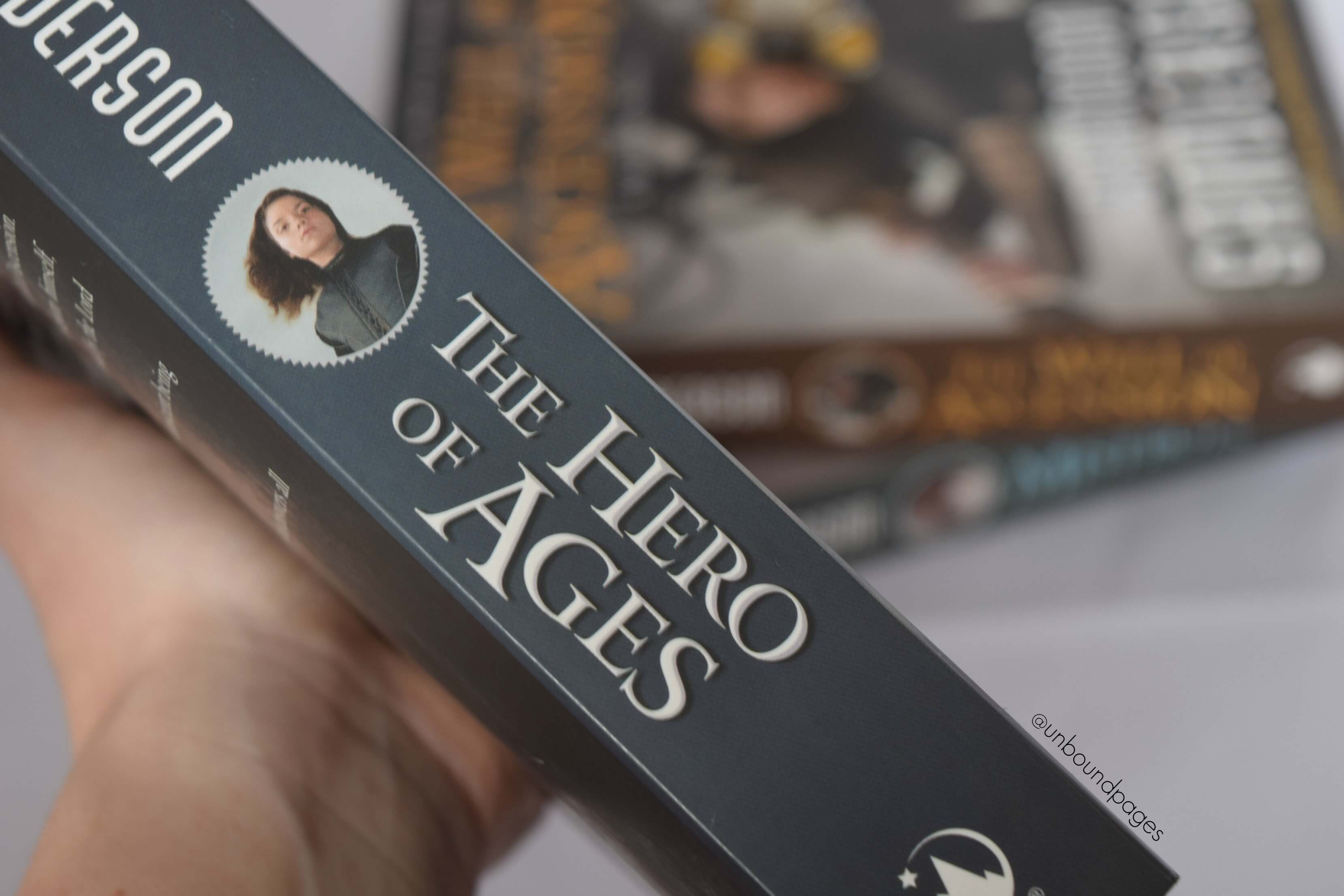 Hero of Ages was the perfect finale to the Mistborn trilogy by Brandon Sanderson. This fantasy series sends a resounding message of hope and taught me to never give up. Fantasy lovers should be reading this! - unboundpages.com