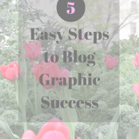 Blog Graphic Success in 5 Easy Steps