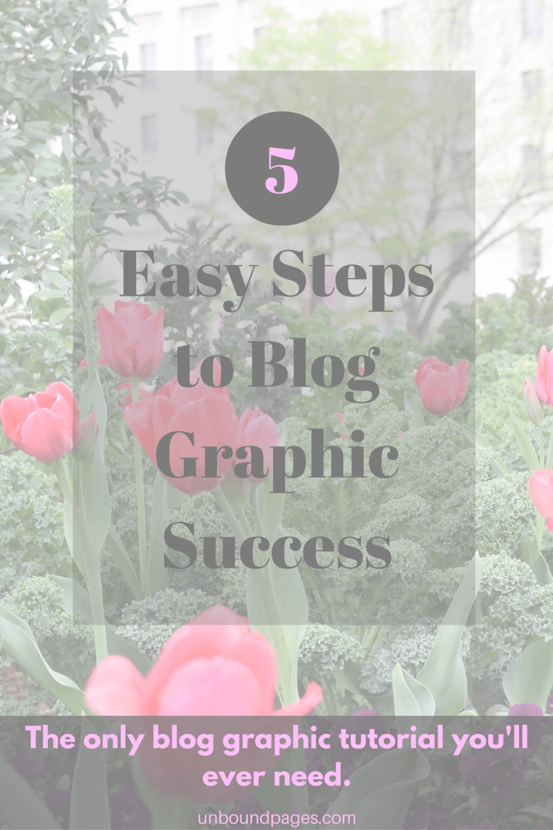 Blog graphics don't have to be hard - not with Canva! - learn how to use this incredible program to make easy blog graphic templates - unboundpages.com