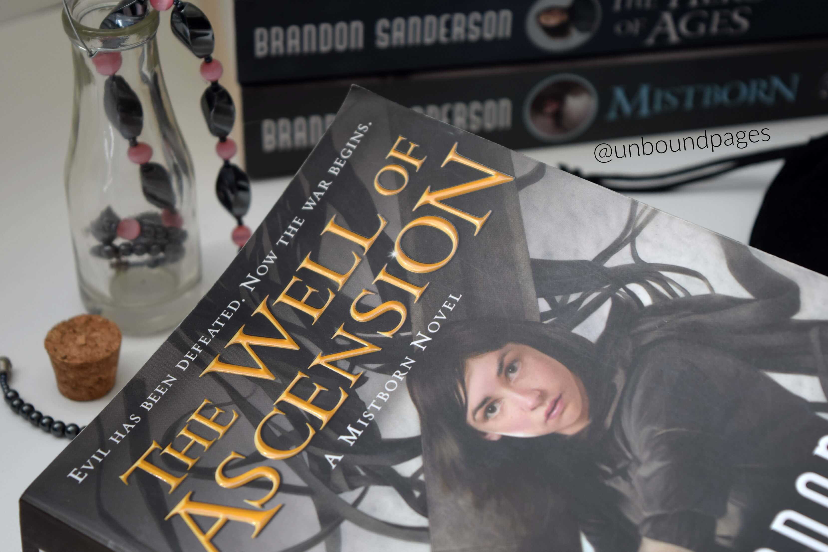 The Well of Ascension was slower paced than the Final Empire, but it allowed Sanderson to expand the world, magic system and characters. That last 100 pages nearly killed me. - unboundpages.com