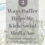 Buffer has completed changed the way I manage social media in the best way possible. I'm now kicking ass on both Facebook & Twitter, making new friends and driving more traffic to my blog.