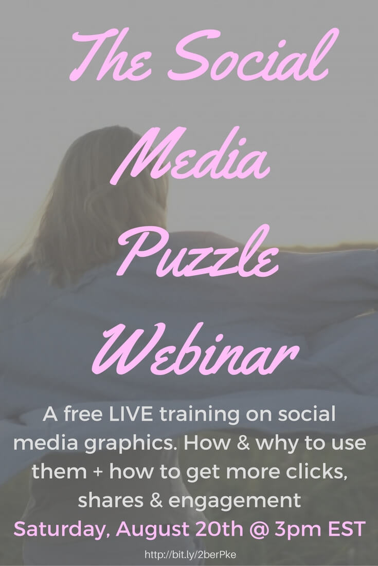 Get more clicks, shares & engagement with this 30 minute LIVE training! Essentials for every book blogger - unboundpages.com