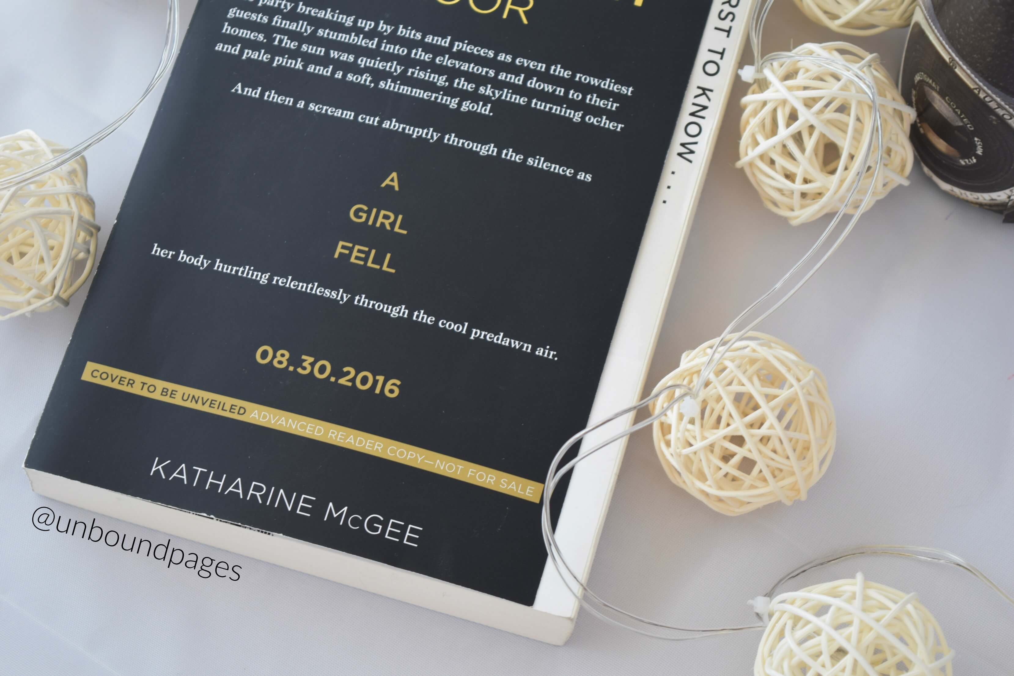 The Thousandth Floor by Katherine McGee was anticlimactic and a little boring - unboundpages.com