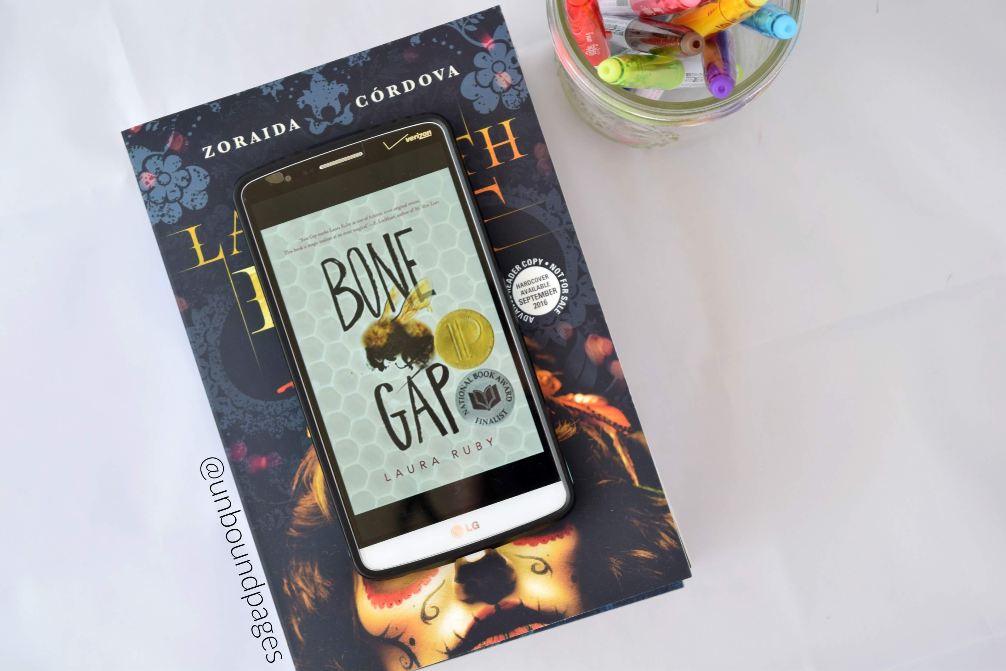 Bone Gap kept me hooked the whole time reading, but the magical realism threw me off - unboundpages.com