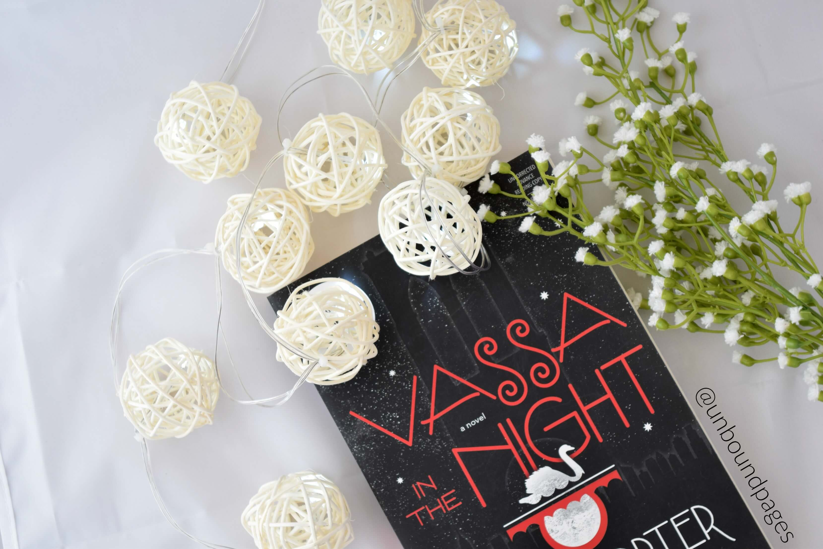 Vassa in the Night by Sarah Porter was just too odd for me. That paired with a lackluster plot and characters made me not enjoy it. - unboundpages.com