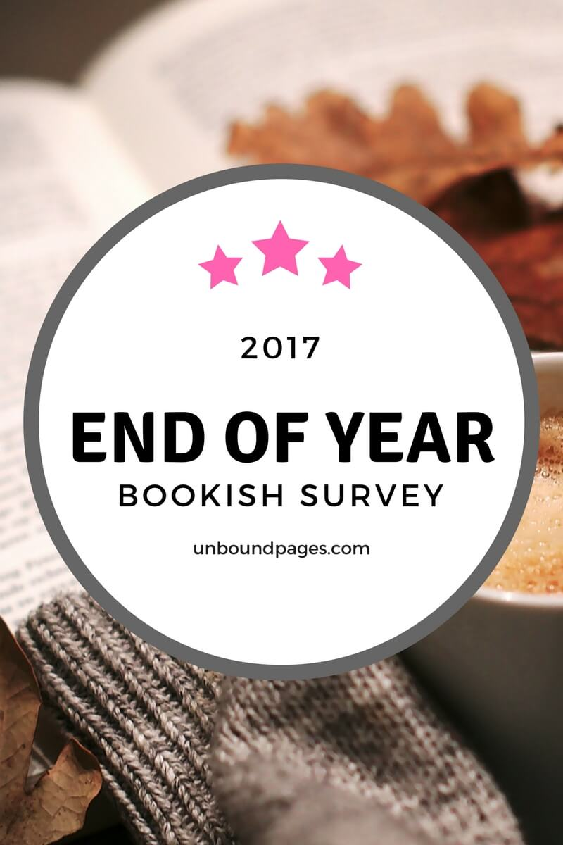 My favorite books of 2017, a recap of my blogging life and some 2018 bookish goals! - unboundpages.com