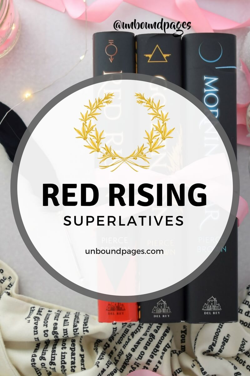 The winner's of the Red Rising superlatives! Who has the best hair? Cutest couple? Best shoulder to cry on? - unboundpages.com