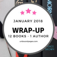 January 2018: 12 Books and One Amazing Event