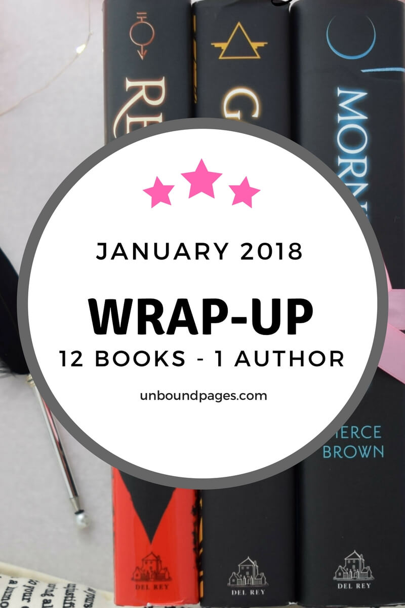 January Wrap-Up: 12 books - 1 author - 1 awesome trip - unboundpages.com
